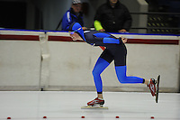 SCHAATSEN: HEERENVEEN: 29-11-2014, IJsstadion Thialf, KNSB trainingswedstrijd, ©foto Martin de Jong