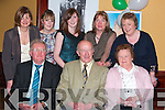 Having a good night a Jimmy Deenihan's 25th Anniversary celebrations in The Listowel Arms Hotel on Friday night were front l-r Patsy Dillon, Duagh, Ned Healy, Listowel, Sheila Lynch, Listowel.  Back l-r Mary Dillon Duagh, Caroline Egan, Aileen and Eileen Byrne  and Ann Egan Listowel..   Copyright Kerry's Eye 2008