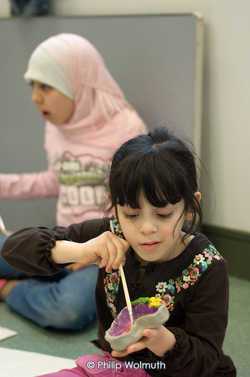 'Unity in the Community', a programme of activities during school holidays at the newly built Stowe Centre, on the Harrow Road in West London.  The centre is run by Paddington Development Trust.