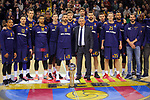 Turkish Airlines Euroleague 2017/2018.<br /> Regular Season - Round 23.<br /> FC Barcelona Lassa vs R. Madrid: 74-101.