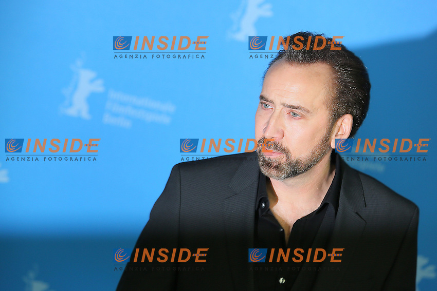 Nicolas Cage. Berlin 15/02/2013. 63th Berlinale 'The Croods' photocall. foto Mark Cape/Insidefoto