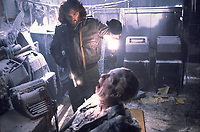 The Thing (1982) <br /> Kurt Russell<br /> *Filmstill - Editorial Use Only*<br /> CAP/KFS<br /> Image supplied by Capital Pictures