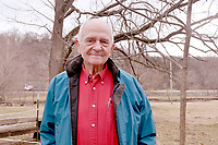 RACHEL DICKERSON/MCDONALD COUNTY PRESS Sam Gaskill, who lives near Rocky Comfort, considers himself very lucky to have lived the life he has lived.