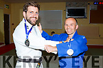 Danny Roche who won a Gold medal at the UK Judo Championships with JT Deenihan, who won the Bronze in Norfolk, UK