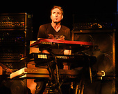 MIAMI, FL - FEBRUARY 09: Derek Sherinian of Sons Of Apollo performs during the Monsters Of Rock pre cruise concert at The Magic City Casino on February 9, 2018 in Miami, Florida. Credit Larry Marano © 2018