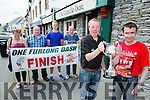 Pictured at the launch of the One Furlong Dash which takes place on the 6th of June at the Castlebar on Monday were, from left: Sarah Galvin, Martin O'Shea, Dara O'Sullivan, Mike Galvin, Domnick O'Brien and Martin Lacey.