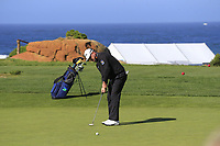Graeme McDowell (NIR) putts on the 6th green of Monterey Peninsula CC during Saturday's Round 3 of the 2018 AT&amp;T Pebble Beach Pro-Am, held over 3 courses Pebble Beach, Spyglass Hill and Monterey, California, USA. 10th February 2018.<br /> Picture: Eoin Clarke | Golffile<br /> <br /> <br /> All photos usage must carry mandatory copyright credit (&copy; Golffile | Eoin Clarke)