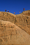 Wadi Rum desert. Jordan. Middle East.Désert de Wadi Rum. Jordanie. Moyen Orient