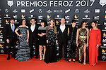 Cast of La que se Avecina attends to the Feroz Awards 2017 in Madrid, Spain. January 23, 2017. (ALTERPHOTOS/BorjaB.Hojas)