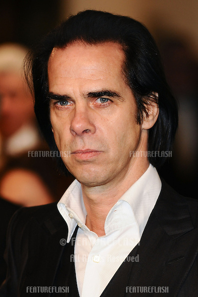"Nick Cave arriving for the premiere of ""The Hobbit: An Unexpected Journey"" at the Odeon Leicester Square, London. 12/12/2012 Picture by: Steve Vas / Featureflash"