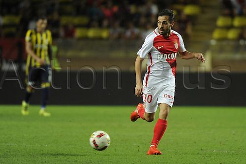 03.08.2016. Monaco, France. UEFA Champions league qualifying round, AS Monaco versus Fenerbahce.  Bernardo Silva (mon)
