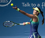 Ana Ivanovic (SRB) defeats Sloane Stephens (USA) 2-6, 6-4, 6-1