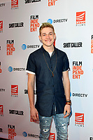 """LOS ANGELES - AUG 15:  Jonathon McClendon at the """"Shot Caller"""" Premiere at The Theatre at Ace Hotel on August 15, 2017 in Los Angeles, CA"""