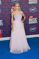 05 June 2019 - Nashville, Tennessee - Julia Michaels. 2019 CMT Music Awards held at Bridgestone Arena. <br /> CAP/ADM/DMF<br /> ©DMF/ADM/Capital Pictures