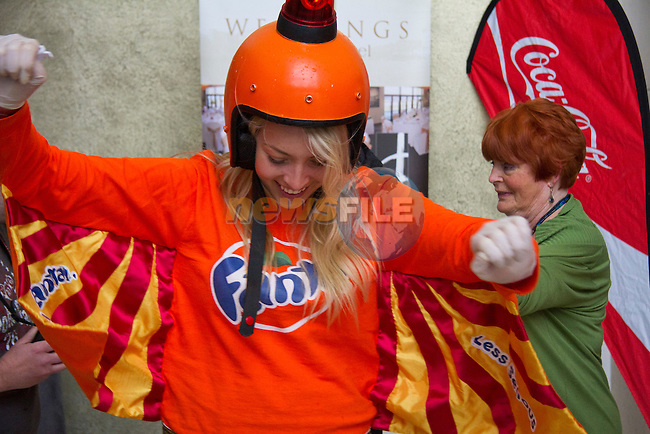 Fanta crew dance to the music..Picture: Shane Maguire / www.newsfile.ie.