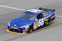 May 1, 2009; Richmond, VA, USA; NASCAR Sprint Cup Series driver Dave Blaney during practice for the Russ Friedman 400 at the Richmond International Raceway. Mandatory Credit: Mark J. Rebilas-