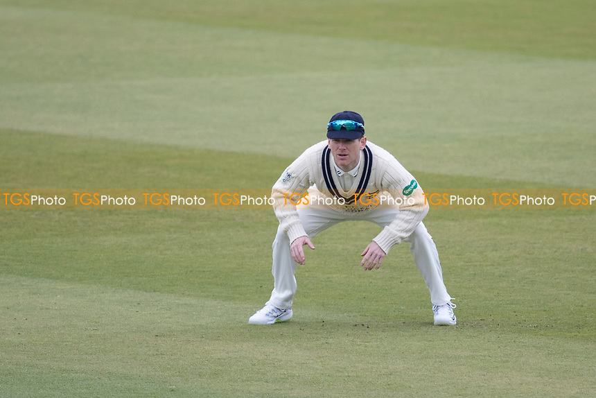 Eoin Morgan of Middlesex CCC during Middlesex CCC vs Lancashire CCC, Specsavers County Championship Division 2 Cricket at Lord's Cricket Ground on 12th April 2019