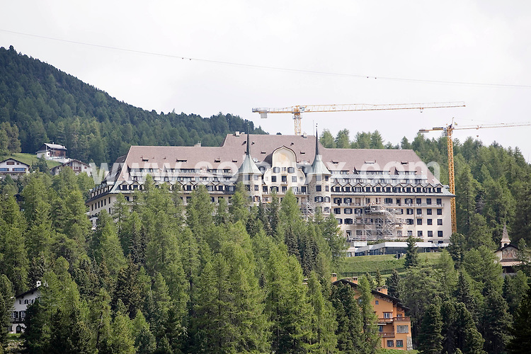 **ALL ROUND EXCLUSIVE PICTURES FROM SOLARPIX.COM**.**SYNDICATION RIGHTS FOR UK AND SPAIN ONLY**.Former German tennis star Boris Becker and his fiancee Lilly Kerssenberg (32) will marry in the Regina Pacis Chapel in the Swiss Alps on June 12.This pic:  Luxury Hotel Suvretta House in St. Moritz. The couple will marry in the Regina Pacis chapel and celberate their wedding in Suvretta House.JOB REF:  9186     CPR        DATE: 08.06.09.**MUST CREDIT SOLARPIX.COM OR DOUBLE FEE WILL BE CHARGED**.**ONLINE USAGE FEE GBP 50.00 PER PICTURE - NOTIFICATION OF USAGE TO PHOTO @ SOLARPIX.COM**.**CALL SOLARPIX : +34 952 811 768 or LOW RATE FROM UK 0844 617 7637**