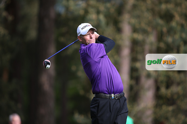 Anders Hansen (DEN) during Round One of the 2015 BMW PGA Championship over the West Course at Wentworth, Virginia Water, London. Picture David Lloyd, www.golffile.ie: 21/05/2015