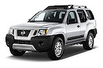 2014 Nissan Xterra S 5 Door Suv Angular Front stock photos of front three quarter view