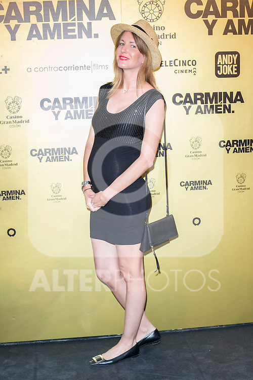 "Vega Rollo Vilanova  attend the Premiere of the movie ""Carmina y Amen"" at the Callao Cinema in Madrid, Spain. April 28, 2014. (ALTERPHOTOS/Carlos Dafonte)"