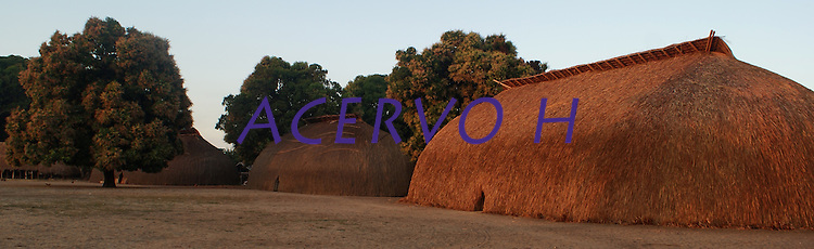 Comunidade Kamaiurá no lago Ipavu.<br /> Mato Grosso, Brasil.<br /> Foto Eric Stoner<br /> 07 e 08 / 08/2010