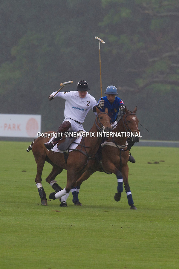 """PRINCE HARRY..The Princes are in high sprits as they play in the charity Sentebale Cup..Prince William, The Duke of Cambridge captained the winning team Tusk Trust and Prince Harry played and scored for the Sentebale team, Coworth Park Polo Club_Berkshire_12/06/2011..Mandatory Photo Credit: ©Dias/Newspix International..**ALL FEES PAYABLE TO: """"NEWSPIX INTERNATIONAL""""**..PHOTO CREDIT MANDATORY!!: NEWSPIX INTERNATIONAL(Failure to credit will incur a surcharge of 100% of reproduction fees)..IMMEDIATE CONFIRMATION OF USAGE REQUIRED:.Newspix International, 31 Chinnery Hill, Bishop's Stortford, ENGLAND CM23 3PS.Tel:+441279 324672  ; Fax: +441279656877.Mobile:  0777568 1153.e-mail: info@newspixinternational.co.uk"""