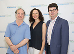 Mark Linn-Baker, Johanna Pfaelzer and Thomas Pearson attends the Media Day for 33rd Annual Powerhouse Theater Season at Ballet Hispanico in New York City.