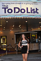 WESTWOOD, CA - JULY 23: Jennifer Tapiero attends the premiere of CBS Films' 'The To Do List' at the Regency Bruin Theatre on July 23, 2013 in Westwood, California. (Photo by Celebrity Monitor)