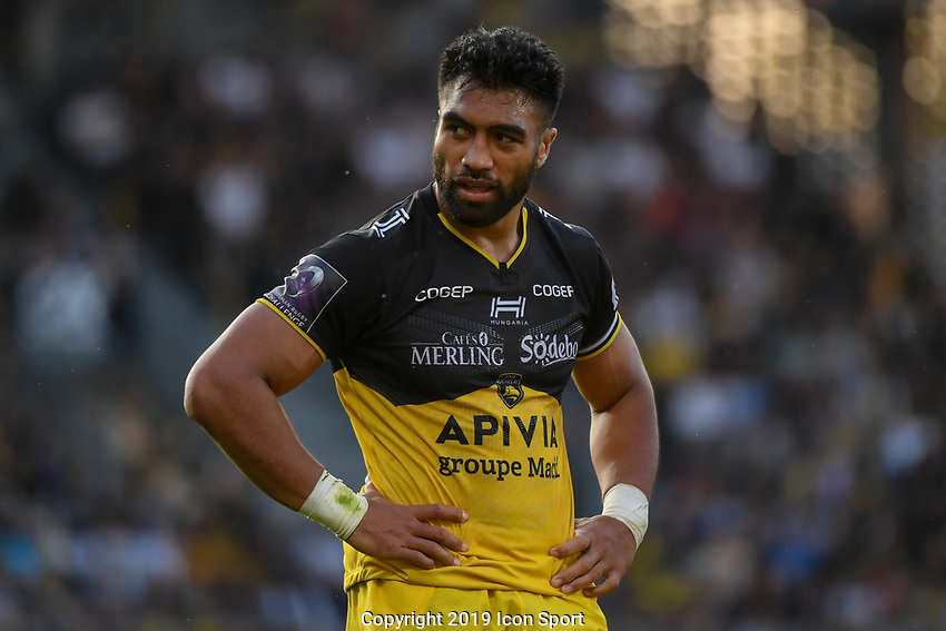 Victor Vito of La Rochelle during the Challenge Cup semi final match between Stade Rochelais and Sale Sharks on April 20, 2019 in La Rochelle, France. (Photo by Anthony Dibon/Icon Sport)