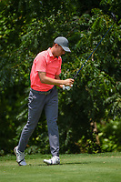 Jordan Spieth (USA) reacts to his tee shot on 6 during round 2 of the 2019 Charles Schwab Challenge, Colonial Country Club, Ft. Worth, Texas,  USA. 5/24/2019.<br /> Picture: Golffile   Ken Murray<br /> <br /> All photo usage must carry mandatory copyright credit (© Golffile   Ken Murray)