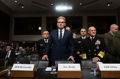 Acting Secretary of the Navy Thomas Modly arrives to testify before the United States Senate Committee on Armed Services at the U.S. Capitol in Washington D.C., U.S., on Tuesday, December 3, 2019.  The panel discussed reports of substandard housing conditions for U.S. service members. <br /> <br /> Credit: Stefani Reynolds / CNP