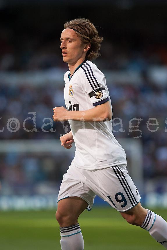 Modric go to corner kick