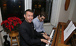 Andrew Lippa attends the Dramatists Guild Fund Salon with Matthew Sklar and Chad Beguelin at the home of Gretchen Cryer on December 8, 2016 in New York City.