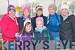 Listowel Coursing: Attending Listowel coursing meeting on Sunday were catering ladiesin front Louise & Aisling Madden. Back : Mary B , Aoife & Margaret Curtin & Martina & Catherine Madden.
