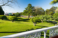 Greymouth garden, West Coast, Buller Region, New Zealand