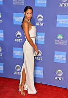 PALM SPRINGS, CA. January 03, 2019: Laura Harrier at the 2019 Palm Springs International Film Festival Awards.<br /> Picture: Paul Smith/Featureflash