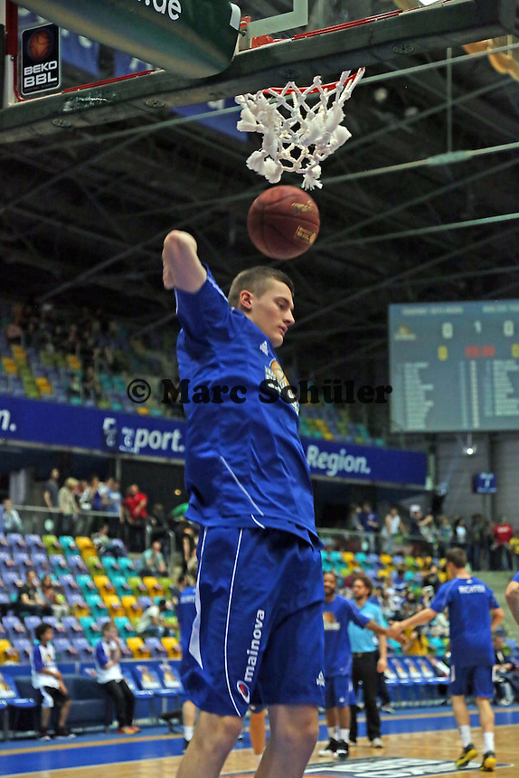 Jan Novak (Skyliners) - Fraport Skyliners vs. Walter Tigers Tübingen, Fraport Arena Frankfurt