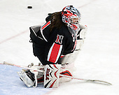 Leah Sulyma (NU - 1) - The Boston University Terriers defeated the visiting Northeastern University Huskies 3-0 on Tuesday, December 7, 2010, at Walter Brown Arena in Boston, Massachusetts.