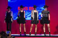 S&Atilde;O PAULO-SP-03.03.2015 - INVERNO 2015/MEGA FASHION WEEK -Grife Mais Um/<br /> O Shopping Mega Polo Moda inicia a 18&deg; edi&ccedil;&atilde;o do Mega Fashion Week, (02,03 e 04 de Mar&ccedil;o) com as principais tend&ecirc;ncias do outono/inverno 2015.Com 1400 looks das 300 marcas presentes no shopping de atacado.Br&aacute;z-Regi&atilde;o central da cidade de S&atilde;o Paulo na manh&atilde; dessa segunda-feira,02.(Foto:Kevin David/Brazil Photo Press)