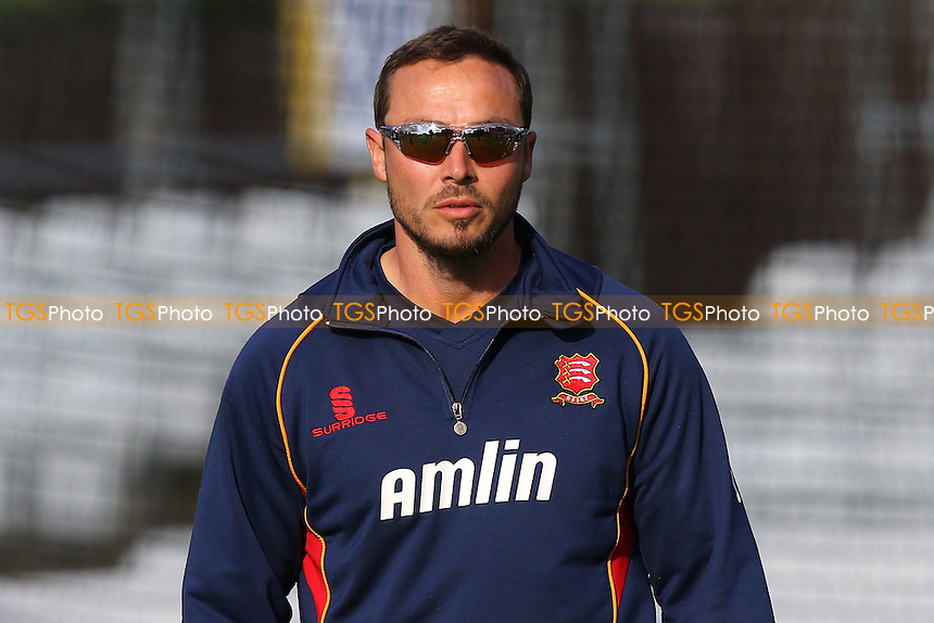 Graham Napier of Essex looks on ahead of the start - Essex Eagles vs Essex Premier Leagues XI - T20 Cricket Friendly Match at the Essex County Ground, Chelmsford, Essex - 13/05/15 - MANDATORY CREDIT: Gavin Ellis/TGSPHOTO - Self billing applies where appropriate - contact@tgsphoto.co.uk - NO UNPAID USE