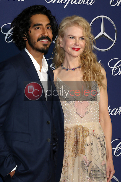 Dev Patel, Nicole Kidman<br /> at the 2017 Palm Springs International Film Festival Gala, Palm Springs Convention Center, Palm Springs, CA 12-02-17<br /> David Edwards/DailyCeleb.com 818-249-4998