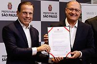 06.02.2018 - Alckmin e Doria anunciam parceria para a construção de moradias em SP