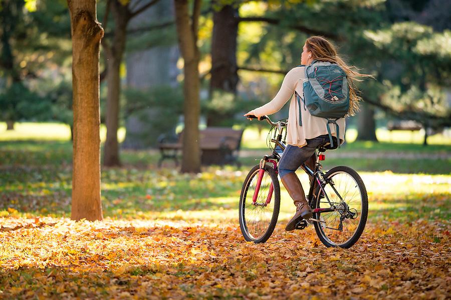 November 7, 2016; Fall day on Main Quad (Photo by Matt Cashore/University of Notre Dame)