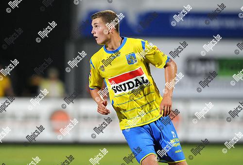 2014-07-26 / Voetbal / seizoen 2014-2015 / KVC Westerlo - Sporting Lokeren / Nicolas Rommens<br /><br />Foto: mpics.be