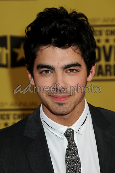 15 January 2010 - Hollywood, California - Joe Jonas of The Jonas Brothers. 15th Annual Critics' Choice Movie Awards - Arrivals held at the Hollywood Palladium. Photo Credit: Byron Purvis/AdMedia
