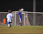 Lobos Azul's Jackson Newman vs. Lobos Rush Academy Nero at the Mike Rose Soccer Complex in Memphis, Tenn. on Monday, November 4, 2013. Lobos Rush Academy Nero won 3-0.