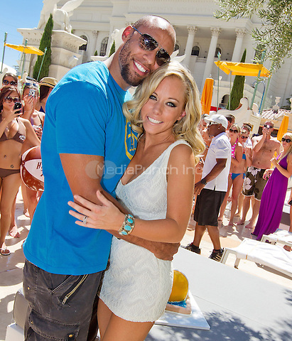 Hank Baskett and Kendra Wilkinson-Baskett  pictured as Kendra Wilkinson-Baskett celebrates her 26th birthday at VENUS POOL CLUB at Caesars Palace in Las Vegas, NV on June 11, 2011. © Erik Kabik / MediaPunch.***HOUSE COVERAGE***