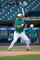 Jake Johnson (39) of the Notre Dame Fighting Irish at bat against the Florida State Seminoles in Game Four of the 2017 ACC Baseball Championship at Louisville Slugger Field on May 24, 2017 in Louisville, Kentucky. The Seminoles walked-off the Fighting Irish 5-3 in 12 innings. (Brian Westerholt/Four Seam Images)