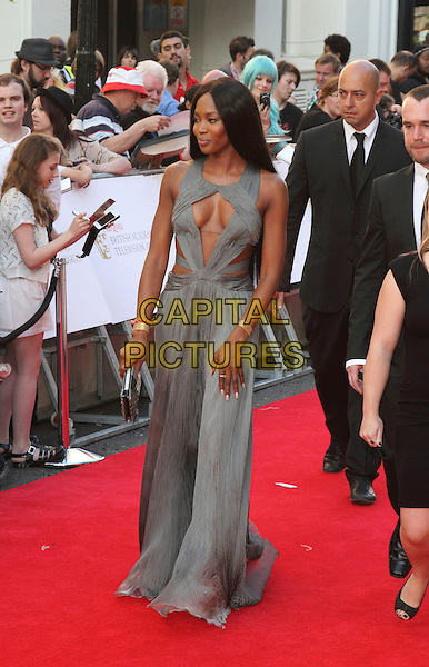 LONDON, ENGLAND - MAY 18: Naomi Campbell attends the Arqiva British Academy Television Awards at the Theatre Royal Drury Lane on May 18, 2014 in London, England.<br /> CAP/ROS<br /> &copy;Steve Ross/Capital Pictures